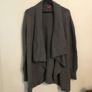 Grey Super Comfortable Drappy Cardigan XL